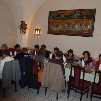 repas nouvel an chinois 11 Fevrier 2014